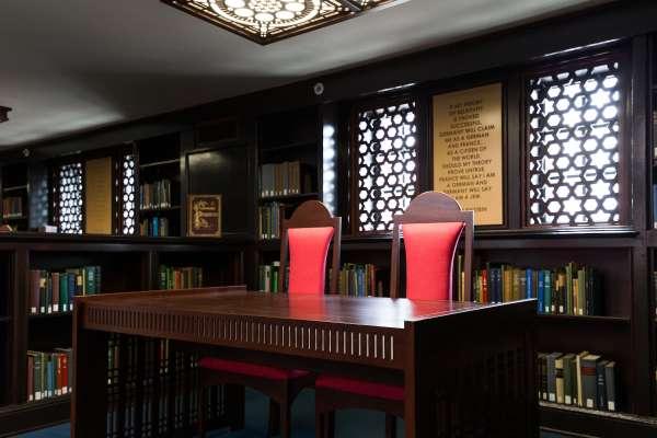 Alcove in the Judaica Suite